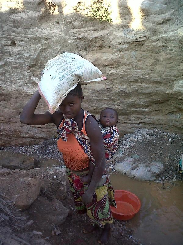 Young mineral washer, DRC