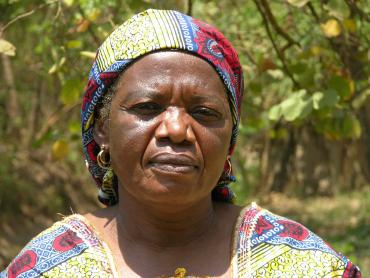 Adèle Mwayuma's two sons were killed in Kilwa