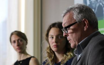 G4S whistleblower gives press conference